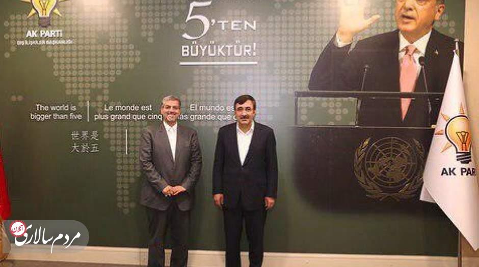 تقویت روابط احزاب ایران و ترکیه میتواند به گسترش روابط سیاسی، اقتصادی و منطقهای تهران- آنکارا کمک کند