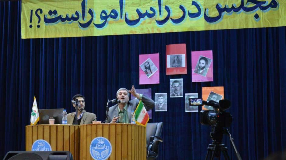 عدهای برای اینکه رای بیاورند تعمد دارند اقدامات دولت روحانی را به پای اصلاحطلبان بنویسند